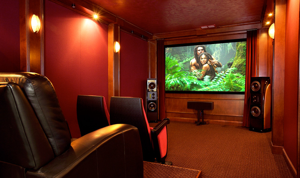 Custom Home Theater NY Creation