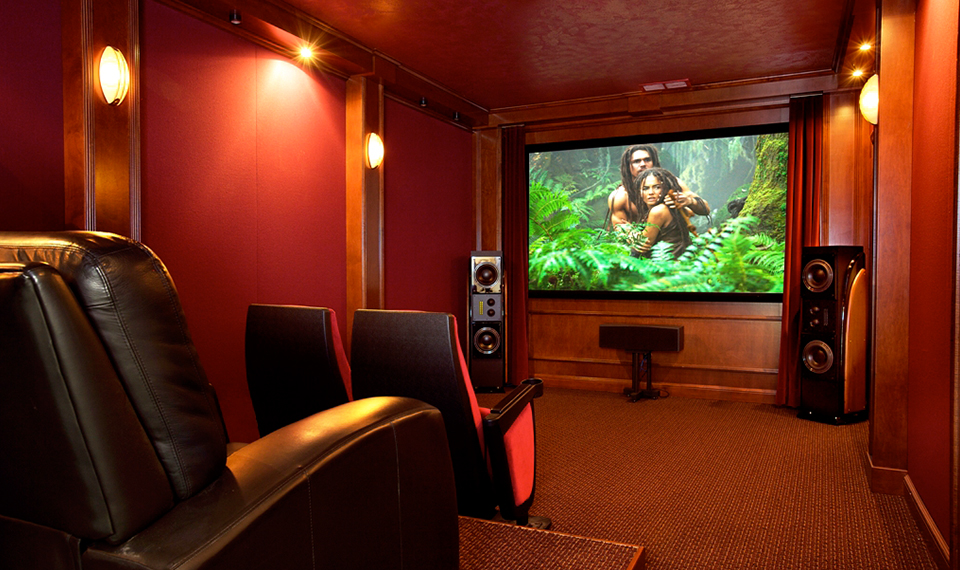 Enjoy a phenomenon called home theater ny today hassle free for Small room movie theater