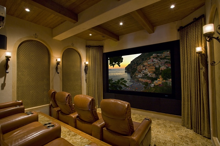 Custom Home Theater in New York New Jersey