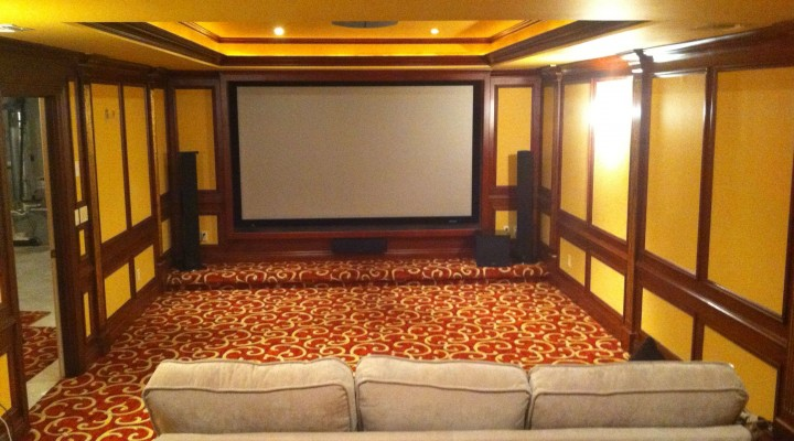 Home theater installation in New York is a new hot trend on the communications market