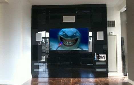 Custom TV Installation + Surround Sound