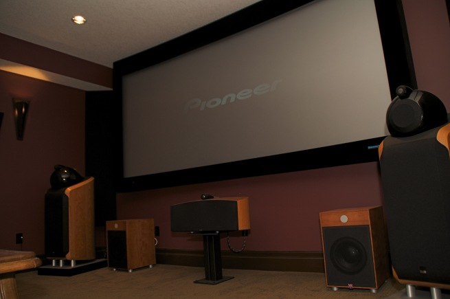 attic movie room ideas - We design and build a Home Theater Installation in New